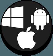 Windows, Mac, Android, iOS